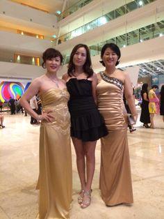 Jeunesse global 2015 Singapore Expo 에서 남진희다이아몬드와 함께한 조수현, 정은숙사장