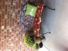 Fall porchlove the bird pillow!