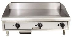 Toastmaster TMGE36 36 SnapAction Thermostatic Control Electric Griddle  208 Volt 3 Phase ** Want additional info? Click on the image.