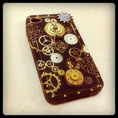 Steampunk iPhone cover