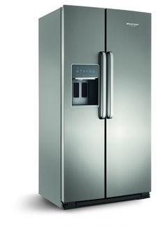 Geladeira Brastemp Gourmand Side By Side Frost Free 596 Litros - BRS80AR | Loja Brastemp