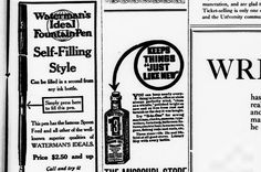 3n1 Oil and waterman's Ideal Fountain Pen....................University Missourian. (Columbia, Mo.) 1908-1916, November 10, 1912, Missouri Store Special Section, Image 5