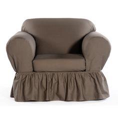 Found it at Wayfair - Shabby Chair Skirted Slipcover