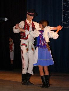 Slovakia: Saris FolkCostume&Embroidery: Overview of the Folk Costumes of Europe Vietnam Costume, Shall We Dance, Folk Costume, Traditional Dresses, Dance Costumes, Embroidery, How To Wear, Dancers, European Countries