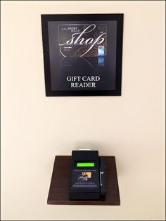 Gift Mall Gift Card Reader Amenity at Short Hills Mall