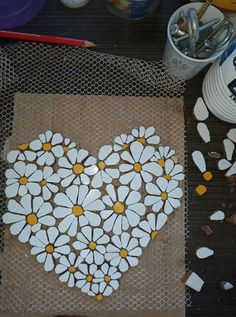 Mosaic Birdbath, Mosaic Garden, Garden Art, Mosaic Birds, Mosaic Flowers, Mosaic Rocks, Stone Mosaic, Mosaic Crafts, Mosaic Projects