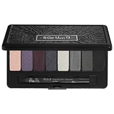 Kat Von D True Romance Eyeshadow Palette - Sinner.  The perfect blend of smokey colors in super smooth, pigmented shades.  You make me covet the other Kat Von D palettes now.