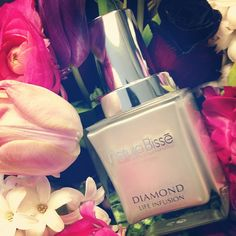 Flowers and diamonds are a girl's best friend so we're especially loving this Youth Biomaker Serum! Diamond Life, Diamond Are A Girls Best Friend, Beauty Skin, Flask, Serum, Perfume Bottles, Skin Care, Desert Island, Marker