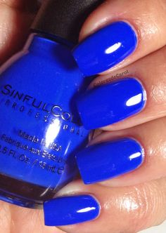 Sinful Colors Endless Blue gotta have it