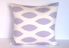 Two 18X18 Decorative Purple Pillow Covers - Geometric Pillow - Accent Pillow - Toss Pillow - Throw Pillow - Decorative Pillow Covers
