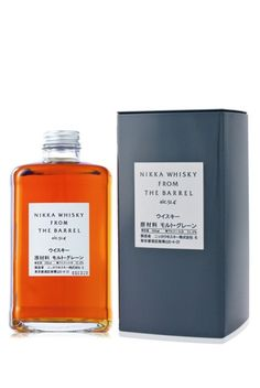 Nikka Whiskey from the Barrel. The Japanese get packaging and branding so perfectly right. Whiskey's not bad either!