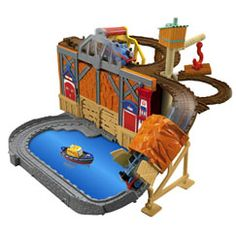 """Fisher-Price Thomas & Friends Rescue from Misty Island - Fisher-Price - Toys """"R"""" Us Boys Toys For Christmas, Toys For Boys, Kids Toys, Christmas 2014, Christmas Ideas, Xmas, Thomas And Friends Toys, Thomas Toys, Thomas The Train Toys"""