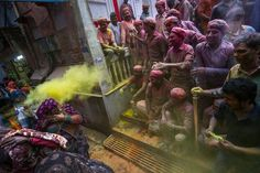 Springtime Celebrations in Vrindavan Photo by Shantanu Saha -- National Geographic Your Shot