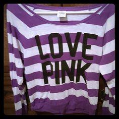 Victoria's secret long sleeve Worn twice  Great condition PINK Victoria's Secret Tops Tees - Long Sleeve