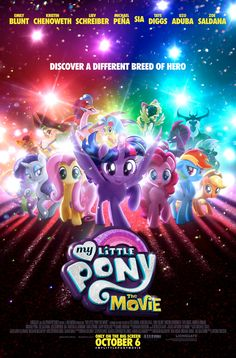 My Little Pony: The Movie gets its first poster today ahead of the official trailer.