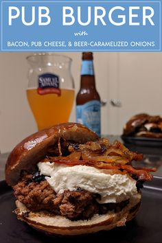 Salted Pretzel, Backyard Cookout, Comfortfood, Caramelized Onions, Cheddar Cheese, Candid, Fries, Bacon, Bbq