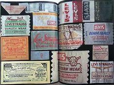 Vintage Denim History Book Levi Jeans Buddy Lee 101 Wrangler Jacket 501xx Big E