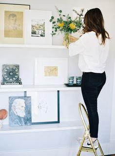 Shelves Styling - LaurenKelp.com