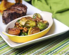 Another excellent Brussels sprouts recipe from Jan. Can't wait to try it.