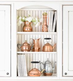 Collection for $215. Copper and Cookbooks | Finder Not Keeper