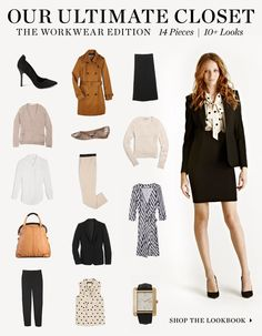 The Look 4 Less: Inspired by...Shopbop's Ultimate Closet [Work Wear Edition]
