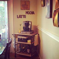 Our Coffeebar Diy Tammy Berger Coffee Center Ideas