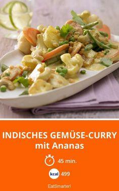 Indisches Gemüse-Curry - mit Ananas - smarter - Kalorien: 499 Kcal - Zeit: 45 Min. | eatsmarter.de