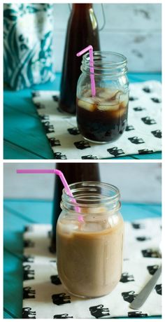 Perfectly Sweetened Cold Brewed Coffee.. my quest for the perfect iced coffee has ended and here it is!