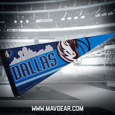 Guess what, Mavs fans?! NEW Skyline Gear in NOW!! For the first time online, pennants and more! Get yours NOW!