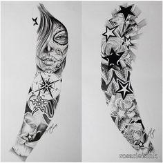 Full arm sleeve art pinte inside proportions 960 x 960 full arm tattoo sket Full Arm Sleeve Tattoo, Full Sleeve Tattoos, Sleeve Tattoos For Women, Tattoo Sleeve Designs, Tattoo Arm, Full Hand Tattoo, Sexy Tattoos, Black Tattoos, Body Art Tattoos