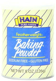 Save On Hain Pure Foods 8 Oz Baking Powder Low Salt Watch Cakes, Breads, And Pastries Rise With Gluten Free Hain Pure Foods Featherweight Baking Powder. Gluten Free Baking No Longer Needs To Be. Foods With Gluten, Sans Gluten, Pureed Food Recipes, Gourmet Recipes, Free Recipes, Best Baking Powder, Low Sodium Recipes, Fast Metabolism Diet, Cooking Ingredients