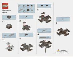 LEGO Fidget Spinners | Brickset: LEGO set guide and database
