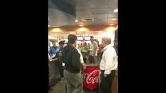 """This video, uploaded to YouTube Monday, stars an entitled young UConn student who wants some """"fucking bacon jalapeño mac and cheese,"""" but these """"fucking idiot"""" cafeteria workers won't give it to him. Instead, they keep telling him he's going to get expelled for bringing beer into Union Street Market. Whatever! This is America, man, and he's 19. Like some """"faggy cafeteria manager cafeteria manager cafeteria manager"""" can tell him what to do?"""