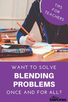 Got blending problems? Learn how to overcome your readers' blending struggles with a simple decoding strategy and snag your FREE Read It packet! Kindergarten Reading, Teaching Reading, Reading Fluency, Guided Reading, Decoding Strategies, Reading Incentives, Blending Sounds, Learning Games For Kids, Struggling Readers