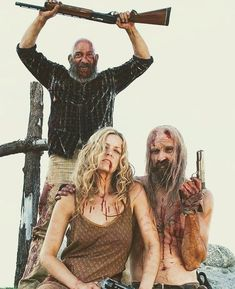 The Devil's Rejects 31 Rob Zombie, Rob Zombie Film, Zombie Movies, Scary Movies, Good Movies, Zombie Art, Horror Icons, Horror Films, Horror Art