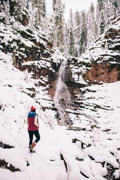 Gal Meets Glam Winter Wonderland - Hidden Waterfall