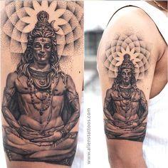 best religious tattoos-lord shiva tattoo designs