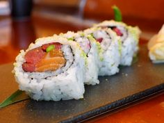 Green Envy roll from SUSHISAMBA. A great way to celebrate INTERNATIONAL SUSHI DAY!!