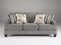 Charmant Yvette   Steel   Sofa By Ashley Furniture. Get Your Yvette   Steel   Sofa  At Furniture Warehouse, Holland MI Furniture Store.