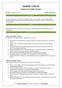 7 Infant Teacher Resume 3 Sales Resume, Manager Resume, Job Resume, Best Resume, Resume Objective Examples, Good Resume Examples, Mechanical Engineer Resume, Human Resources Resume, Ms Project