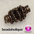 Tutorial - Videos: How To Make Wire Coiled Beads | Beadaholique