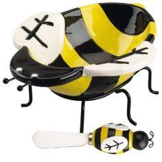 Bee Dip & Spreader Set
