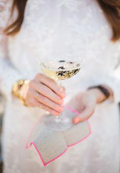 { fancy champagne }