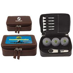 61973 - Zippered Golf Gift Kit - Wilson® Ultra 500 is perfect for wedding giveaways! #promoproducts #wedding