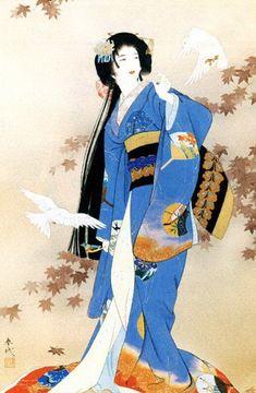 Me gustan los trajes orientales, el hanbok, los vestidos de plata de los Miao, el qipao, la indumentaria tibetana, los kimonos… Por eso cuando descubrí a Haruyo Morita me sentí deslumbrad…