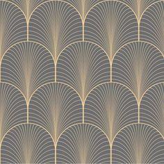 p/papier-peint-adhesif-sur-mesure-motifs-art-deco-modele-klimt - The world's most private search engine Motifs Art Nouveau, Motif Art Deco, Art Deco Pattern, Art Deco Design, Art Deco Tiles, Art Deco Living Room, Paint Colors For Living Room, Paint Colors For Home, Wallpaper Art Deco