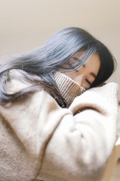 Ulzzang Style, Korean Fashion, Adorable, sleeping, sweater