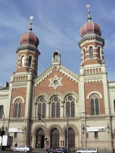 Great Synagogue Photo - Great Synagogue/Velka Synagoga, Plzen, Czech ...