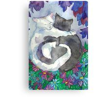 'Soft Hearts Cat Friends ' by Niina Niskanen Framed Prints, Canvas Prints, Art Prints, Soft Heart, Watercolor Paper, Cat Art, Wall Tapestry, Art Boards, Decorative Throw Pillows