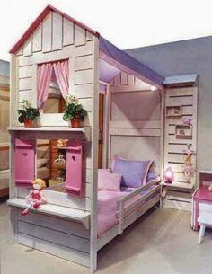 Doll house bed sandbox kid beds, fairytale bedroom и kids bedroom. Cool Beds For Kids, Fairytale Bedroom, Fairy Bedroom, Kids Bedroom Furniture, Bedroom Ideas, Bed Ideas, Entryway Furniture, Decor Ideas, Bedroom Decor